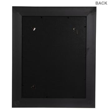 Black Beaded Bevel Wall Frame
