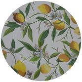 Lemon Print Plate Charger