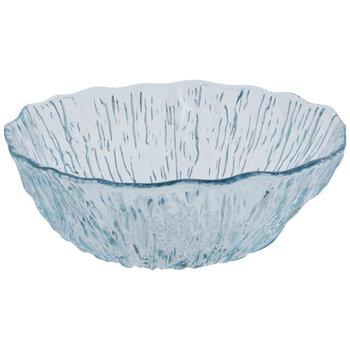 Aqua Blue Textured Serving Bowl