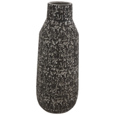 Black & Gray Textured Vase