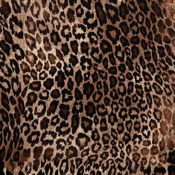 Cheetah Print Satin Knit Fabric