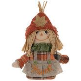 Harvest Plush Scarecrow