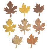 Fall Paper Leaf Embellishments