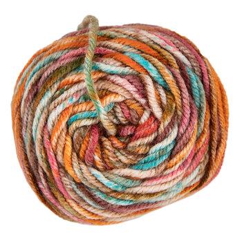 Orange Burst Print I Love This Yarn