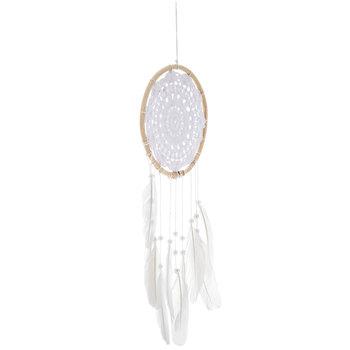 Feather Crochet Dreamcatcher