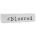 White & Black Blessed Decor