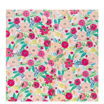 Blush Floral Self-Adhesive Vinyl