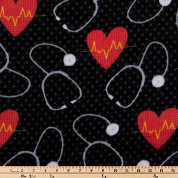 First Aid Fleece Fabric