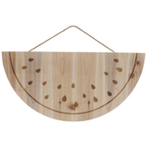 Watermelon Slice Wood Wall Decor