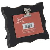 """Black Ornate Clip Frame - 3"""" x 2"""""""