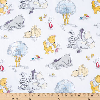 Pooh Togetherish Cotton Calico Fabric
