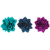 Satin Flower Clips