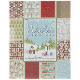 "Winter Wonderland Paper Pack - 8 1/2"" x 11"""