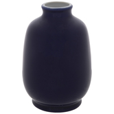 Blue Rounded Vase