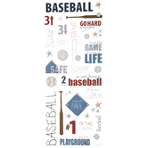 Baseball Doodle Stickers