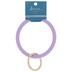 Lavender Circle Bangle Keychain