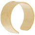 10K Gold Plated Hammered Ear Cuffs