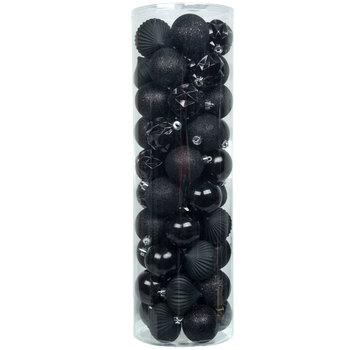 Black Matte, Shiny & Glitter Ball Ornaments