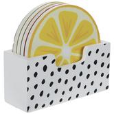 Citrus Wood Coasters