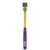 Purple & Yellow Foam Bat & Ball