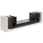 Square Wood Wall Shelf Set