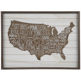 I'm Proud To Be An American Wood Wall Decor