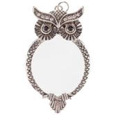 Owl Magnifier Pendant