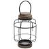 Black Round Metal Wire Lantern