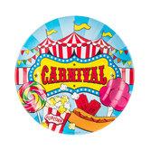 Carnival Paper Plates