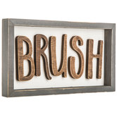 Brush Wood Decor