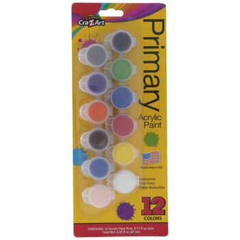 Primary Acrylic Paint Pods