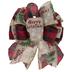 Red Buffalo Check & Trucks Gift Bow