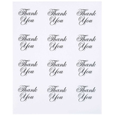 Thank You Script Envelope Seals