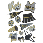 Cheer 3D Stickers