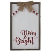 Merry & Bright Wood Wall Decor