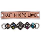 Faith Hope Love Connectors