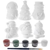 Christmas Character Plaster Craft Kit
