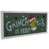 Light Up Grinchmas Wood Wall Decor