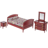 Miniature Mahogany Bedroom Furniture