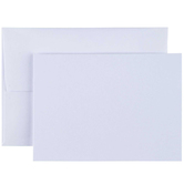 "White Gift Cards - 2 1/2"" x 3 1/2"""