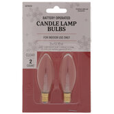 Candle Lamp Replacement Bulbs - E12