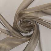 Gold Crepe Sparkle Organza Fabric