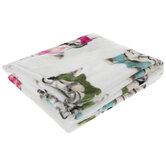 Hipster Cat Throw Blanket
