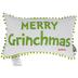 Merry Grinchmas Pom Pom Pillow