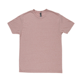 Desert Pink Adult Tri-Blend Crew T-Shirt - Small