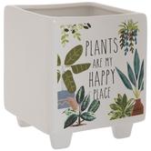 Happy Place Flower Pot