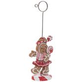 Gingerbread Girl Card Holder