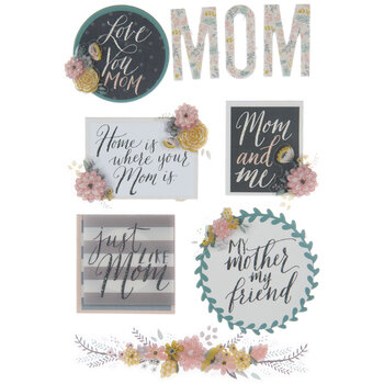 Mom 3D Stickers
