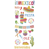 Mexican Vacation Stickers