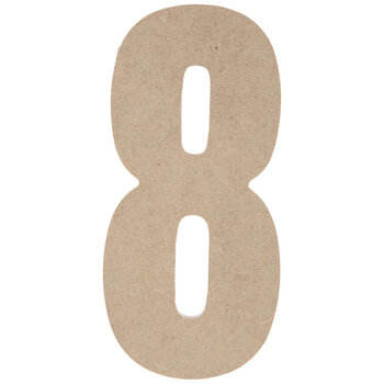 "Wood Number 8 - 5"""